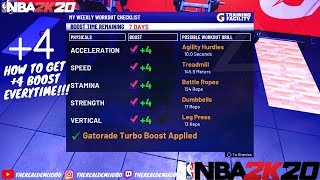 How To Get +4 On All Gatorade Drills In NBA 2K20! EASY!