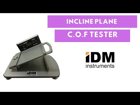 Incline Plane COF Tester | Model C0045