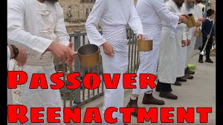 Passover Sacrifice Occurs same time as Temple Mount FIRE and Notre Dame Fire