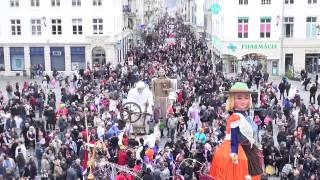 preview picture of video 'Carnaval de Châlons-en-Champagne en 2014'