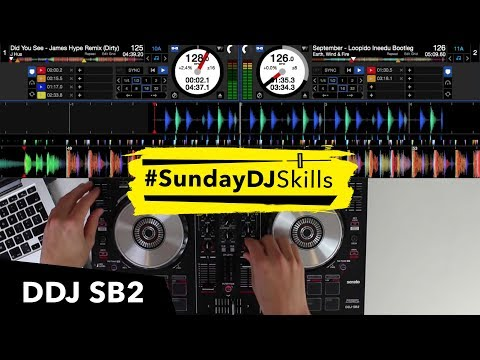 Pioneer DDJ SB2 – House EDM Hip Hop – Performance Mix