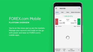 FOREX.com Mobile App Overview