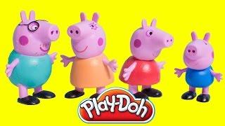 Peppa Pig Play Doh Videos Peppa Pig Toys Peppa Pig George Juguetes de Peppa Pig