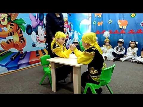 Кыргызская игра Аркан тартышуу.Бишкек, 2017 - www.children.kg
