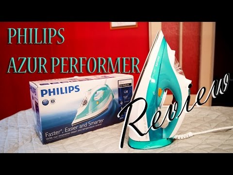 Philips Azur Performer Dampfbügeleisen Test