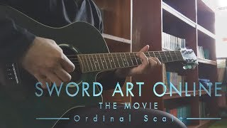【Sword Art Online】(Ordinal Scale) Catch The Moment by LiSA (Fingerstyle) [Guitar Cover]【TAB】