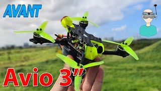 "Best Micro Quadcopter? Avantquads Avio 3"" - Review & Flight Footage"