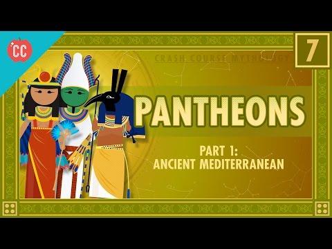 Božské rodiny starověkého Středomoří - Světová mytologie