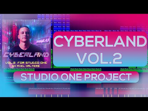 Cyberpunk Template Studio One Cyberland Vol 2