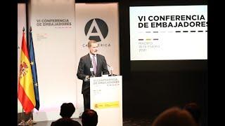 Palabras de S.M. el Rey en la clausura de la Conferencia de Embajadores de España