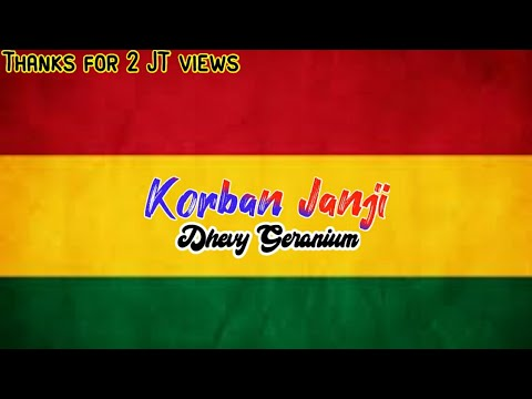 , title : 'KORBAN JANJI || Lirik lagu version || Ft.Dhevy gerranium || Ska 86 version'