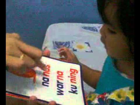 Video anak cerdas membaca 1,5 tahun