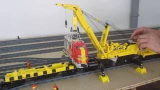LEGO Kran Goliath Teil 3 Hub