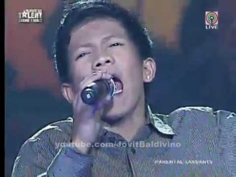 Jovit Baldivino - Too Much Love Will Kill You - Pilipinas Got Talent 2010 : Season 1 Grand Finals