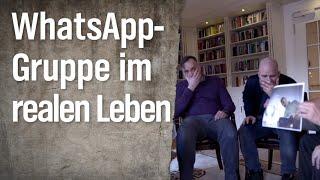 WhatsApp Gruppenchat Im Wirklichen Leben   Extra 3   NDR