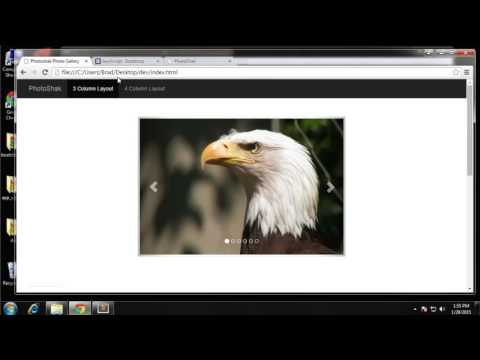 Build a Photo Gallery UI using Bootstrap - Part 3