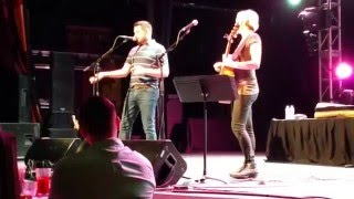 What if I said  ~Anita Cochran with Ty Herndon at the Canyon