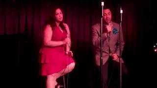 Rosalie Rivera & Gerald J @ Don't Tell Mama's: My Grown Up Christmas List (Duet)