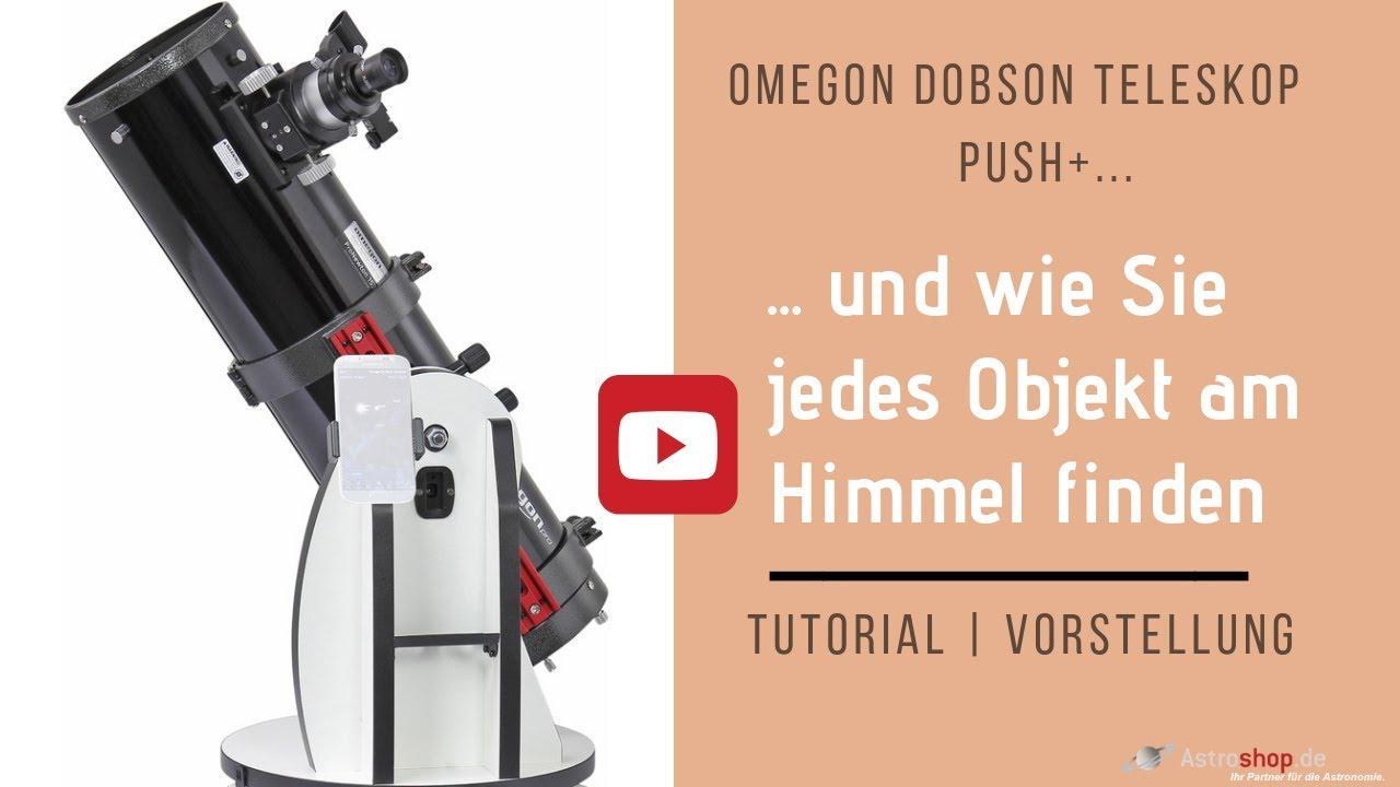 Dobson Teleskop Push+