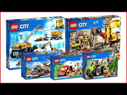 TOP 5 LEGO City Great Vehicler 2018 - Speed Build