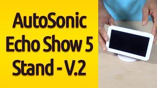Echo Show 5 Adjustable Magnetic Stand Mount, 360 Degree Swivel, Tilt Function & Anti-Slip Base