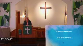 Worship in Church – 1/24/2021