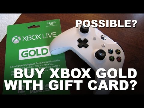 Can I Use Xbox Gift Card to Buy Xbox Live Gold?