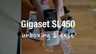 Gigaset SL450HX DECT Schnurlostelefon mit Router verbinden (Telekom VoIP)