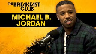 The Breakfast Club - Michael B. Jordan Dodges Relationship Questions, Talks Life Post-Black Panther + More
