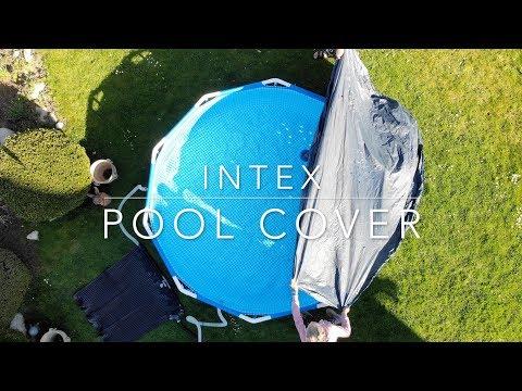 Intex Metal frame pool cover
