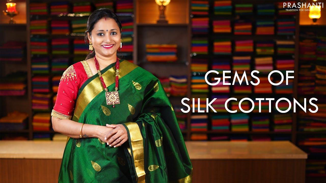 "<p style=""color: red"">Video : </p>Gems of Silk Cottons   10 Jan 2021   Prashanti 2021-01-10"
