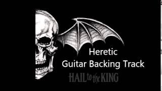 Avenged Sevenfold - Heretic (Guitar Backing Track)