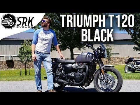 2020 Triumph Bonneville T120 Black in Shelby Township, Michigan - Video 1