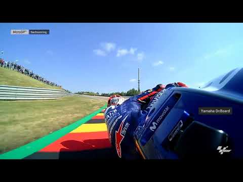 German GP: Yamaha OnBoard