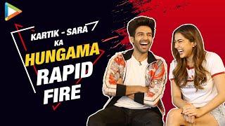 Kartik-Sara at their FUNNIEST- Try Not To Laugh | Rapid Fire | Saif Ali Khan | Taimur | Love Aaj Kal