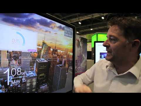 CTouch Shows its exciting new range of collaborate IFPDs at UC Expo