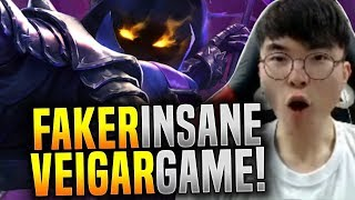 Gambar cover Faker Makes the Perfect Game with Veigar! - SKT T1 Faker Plays Veigar Mid! | SKT T1 Replays
