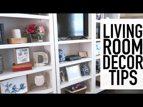 HOUSE TOUR   9 LIVING ROOM DECOR TIPS   LIVING ROOM TOUR   DECORATING IDEAS