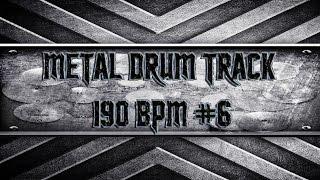 Heavy/Thrash Metal Drum Track 190 BPM (HQ,HD)