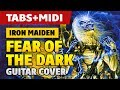 Iron Maiden - Fear of the Dark (Acoustic Guitar Cover with Tabs) [Guitar Lessons]