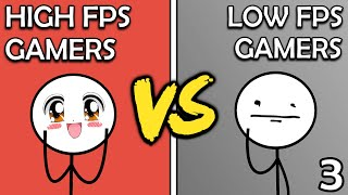 High FPS Gamers VS Low FPS Gamers (The Last Ride)