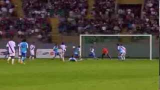 Resumen del empate de Guatemala ante Perú en el futbol de Bolivarianos