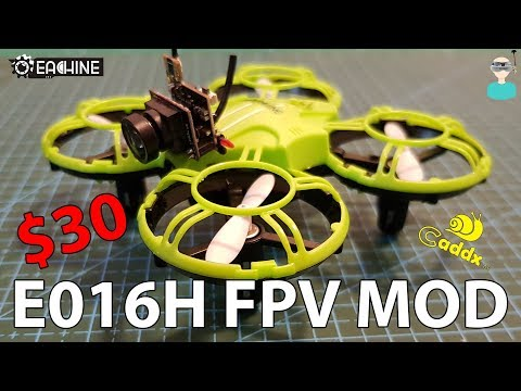 Eachine E016H Easy FPV MOD - Cheap FPV Platform For Beginners