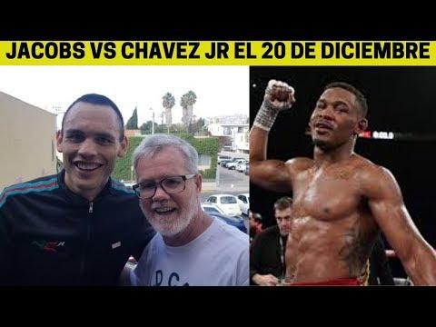 DANNY JACOBS VS JULIO CESAR CHAVEZ JR POR DAZN EL 20 DE DICIEMBRE