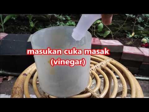 Video tips menghilangkan karat pada besi