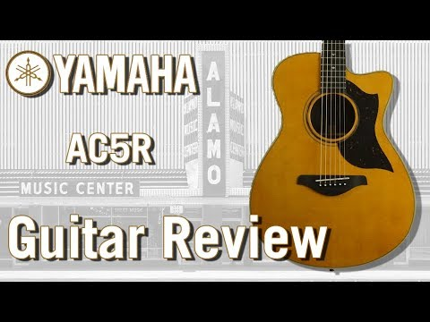 Yamaha AC5R Acoustic Electric Guitar Review