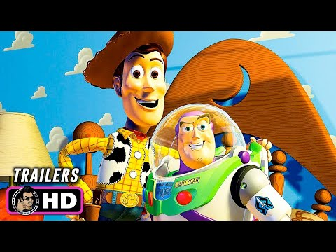 TOY STORY Franchise Trailers (1995 - 2019) Pixar