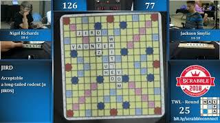 2018 Scrabble Championship 4/10