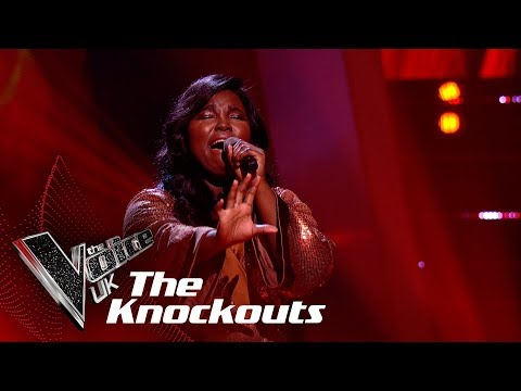 Bukky Oronti's 'Set Fire To The Rain' | The Knockouts | The Voice UK 2019