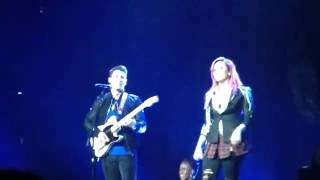 Demi Lovato And Nick Jonas - Here We Go Again (Live In Vancouver)